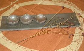焼〆長皿・まめ鉢