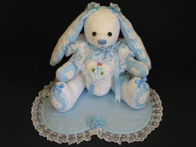 7.ウサギ(ブルー),500(本体)(0(シート)売約済